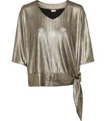 maglia lucida (oro) - bodyflirt