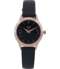 reloj negro-dorado versace 19.69