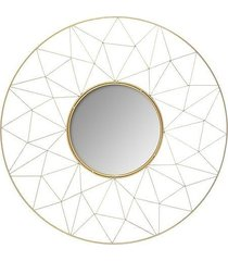 lustro dekoracyjne graphic złote