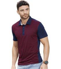 camiseta polo adulto para hombre marketing personal -bicolor