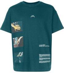 a-cold-wall* glass blower t-shirt - blue