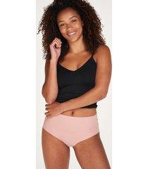 hunkemöller brazilian-trosa invisible high waist rosa