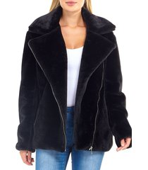 chaqueta brave soul negro - calce regular