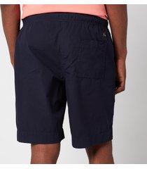 ps paul smith men's drawstring shorts - inky - xl