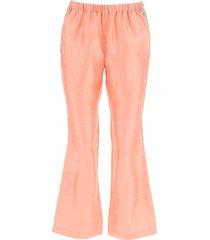 marni jacquard trousers