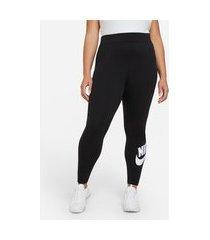 plus size - legging nike sportswear essential feminina