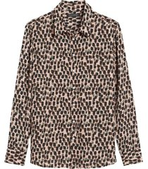 blusa dillon prints café banana republic