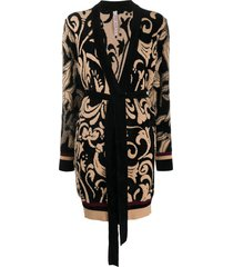 antonio marras tie-waist wrap cardigan - neutrals