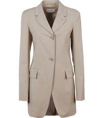 beige viscose jacket