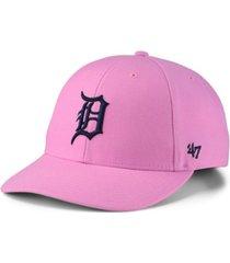 '47 brand detroit tigers pink series cap