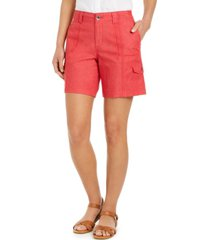 style & co chambray shorts, created for macy's