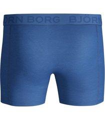 bjorn borg boxers 2-pak sketch blauw