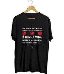 camiseta - vas: meu amor. masculino
