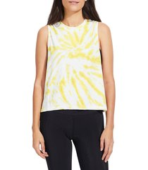 sage collective women's audrey seamless tank top - sol - size l