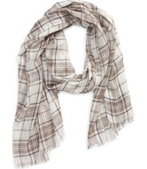 women's treasure & bond women's relaxed scarf, size one size - ivory