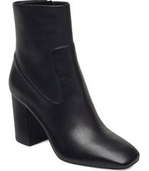 marcella flex bootie shoes boots ankle boots ankle boot - heel svart michael kors