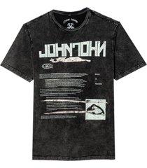 camiseta john john metal brushes masculina (preto, gg)