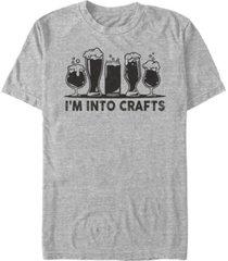fifth sun men's crafts short sleeve crew t-shirt