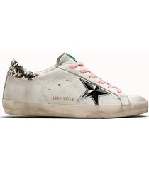 golden goose deluxe brand sneakers superstar colore bianco used