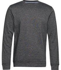 crew neck sweat sweat-shirt tröja grå shine original