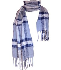 bufanda tartan highlands azul celeste  viva felicia