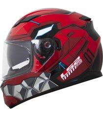 capacete ls2 ff320 stream angel vermelho viseira solar ff320 stream ange