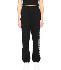 chiara ferragni pants chiara ferragni jogging trousers with rhinestone love fiercely writing