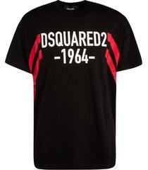 dsquared2 1964 logo print t-shirt