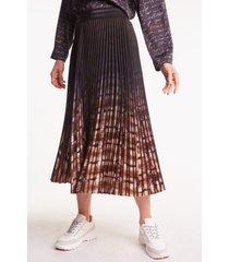 plisowana spódnica we wzory melani
