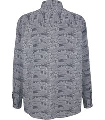 skjorta roger kent silvergrå