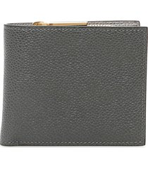 thom browne grain leather wallet