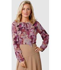 blouse mona bordeaux::karamel