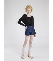shorts amapô cintura alta feminina