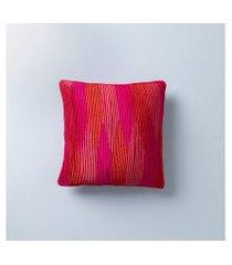 capa de almofada barak 45x45 cor: rosa - tamanho: único