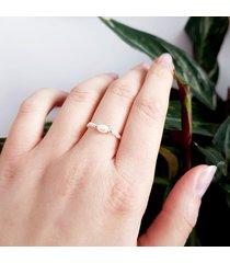 perły i srebro pierścionek elastyczny