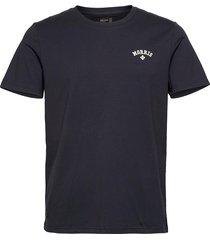 merton tee t-shirts short-sleeved blå morris