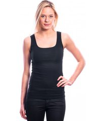 ten cate women basic singlet (30197) black (two pack)
