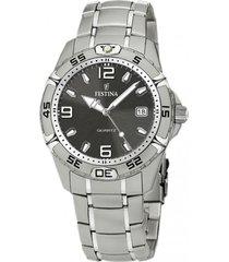 reloj f16170/3 gris festina hombre estuche