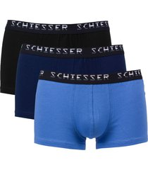 schiesser shorts pima cotton 3-pak