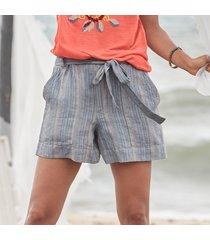 isabella stripe shorts