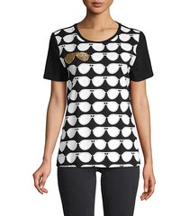 graphic stretch tee