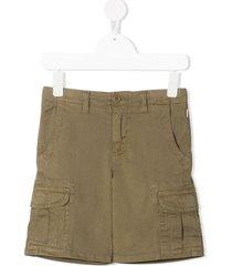 il gufo multi-pocket bermuda shorts - neutrals
