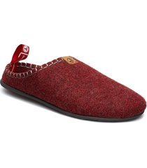 dnt toffel slippers tofflor röd viking