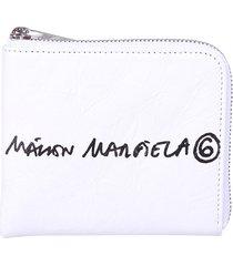 mm6 maison margiela printed wallet
