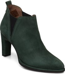 m-4303 shoes boots ankle boots ankle boots with heel grön wonders