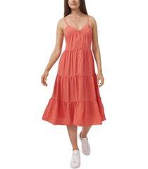 riley & rae drapey gauze tiered dress