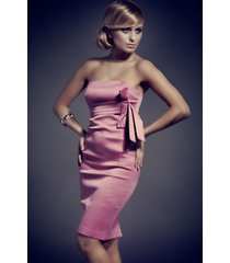 sukienka monroe mod. 49 jasny fiolet