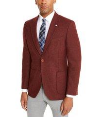 nautica men's modern-ft solid sport coat