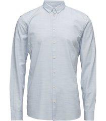 crescent skjorta business blå minimum