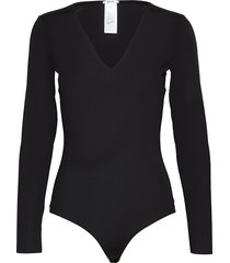 vermont string body t-shirts & tops bodies svart wolford
